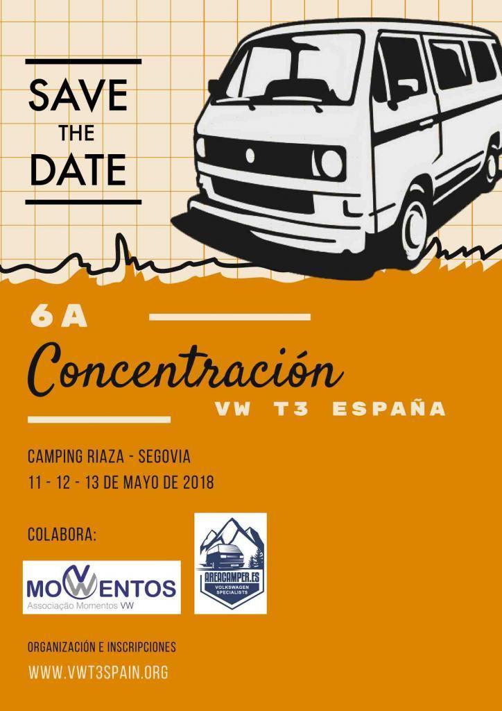 6ª Concentração VW T3 SPAIN - 11/12/13 maio 2018 - Riaza, Segovia - Espanha 1-220110