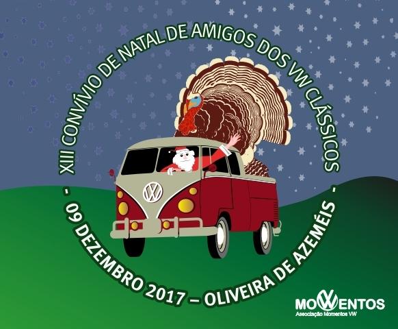 13º Convívio de Natal de Amigos dos VW Clássicos - 09 Dez. 2017 - Oliveira de Azeméis Frente11