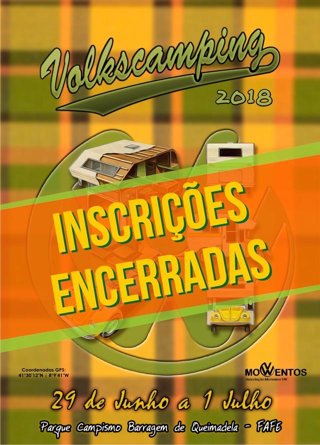 VOLKSCAMPING 2018 - 29 junho a 01 julho - Barragem de Queimadela - FAFE Incric10