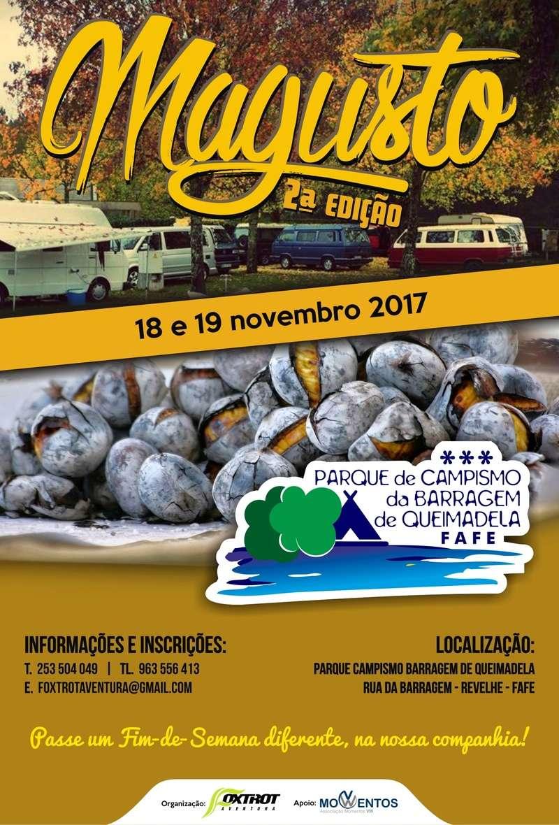 MAGUSTO - 2 EDIÇÃO - 18 E 19 DE NOVEMBRO 2017 - PARQUE DE CAMPISMO BARRAGEM DE QUEIMADELA - FAFE Parque10