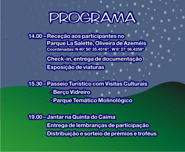 13º Convívio de Natal de Amigos dos VW Clássicos - 09 Dez. 2017 - Oliveira de Azeméis Progra11