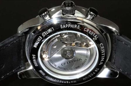 a part la Z : les montres mécanique Certin10