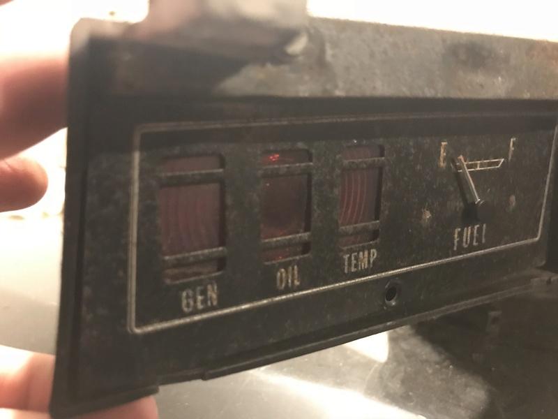 Wanted: 73-77 Chevelle/Malibu Rectangular Speedometer Gauge Cluster Cj2flh10