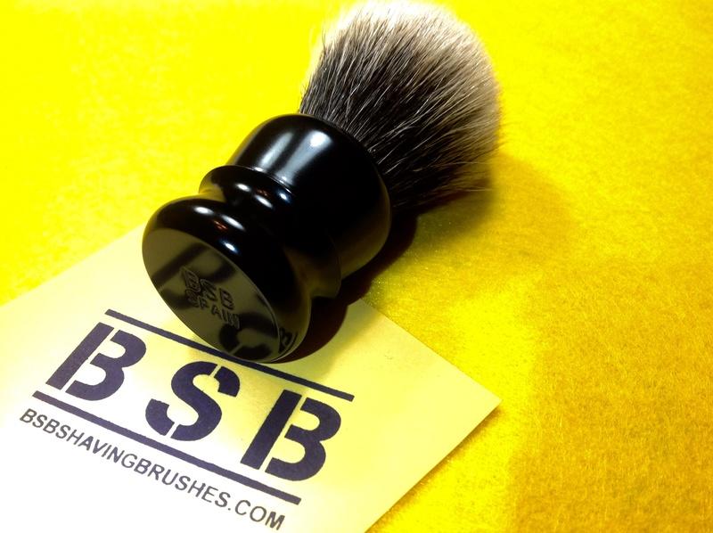 BSB Shaving Brushes - Brosses de rasage en aluminium brillant BSB-1 et BSB-2 disponibles Image11