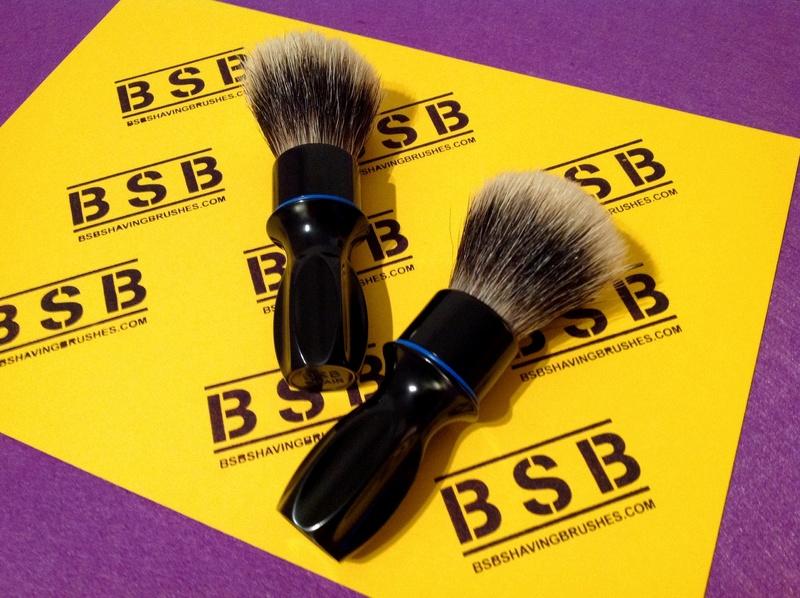 BSB Shaving Brushes - Brosses de rasage en aluminium brillant BSB-1 et BSB-2 disponibles Image12