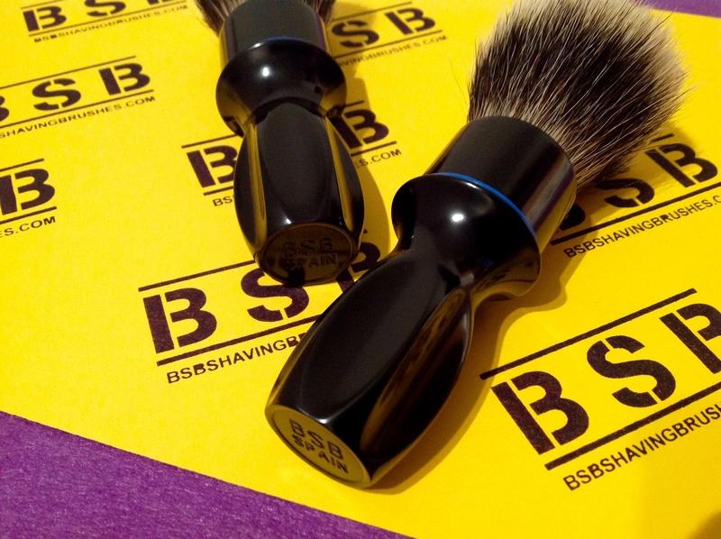 BSB Shaving Brushes - Brosses de rasage en aluminium brillant BSB-1 et BSB-2 disponibles Image14