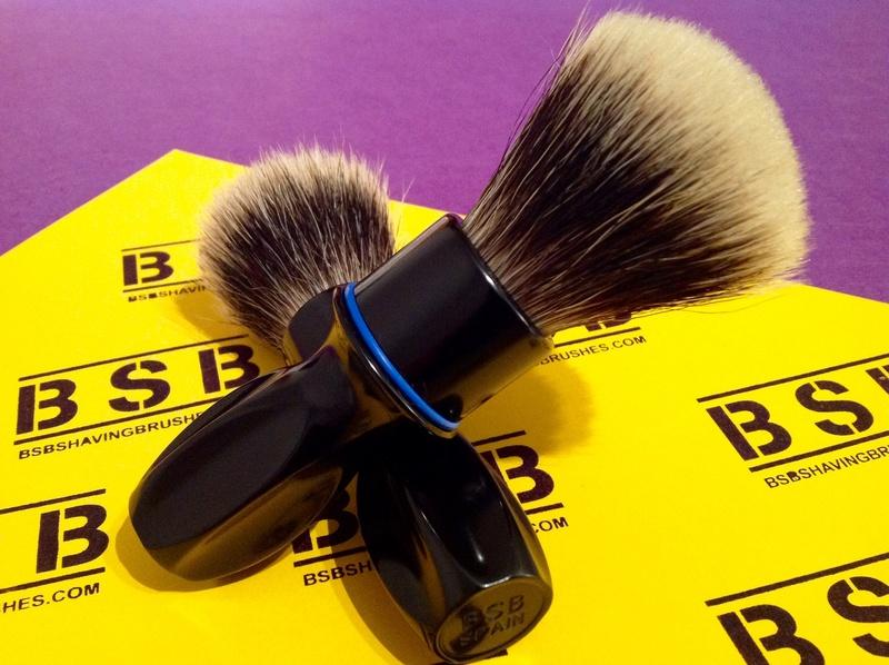 BSB Shaving Brushes - Brosses de rasage en aluminium brillant BSB-1 et BSB-2 disponibles Image15