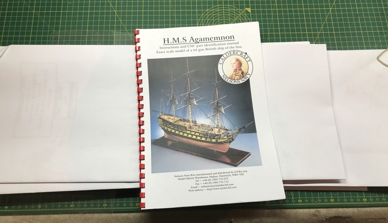 L'Agamemnon 1/64e Caldercraft, kit bashing... - Page 2 919c8810