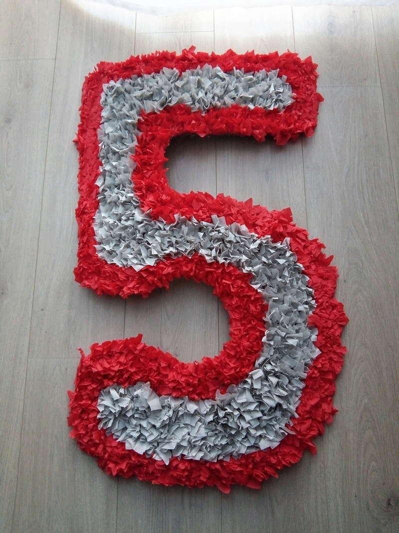 Цифры 3,4,5 для ДР ребенка на стену Img_2012