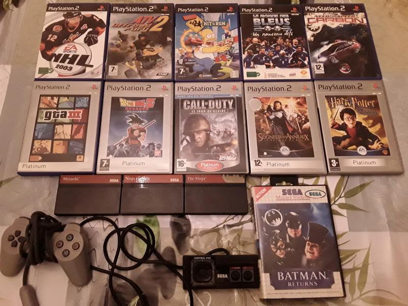 [Est] console n64 jeux ps2 master system nes 15079110