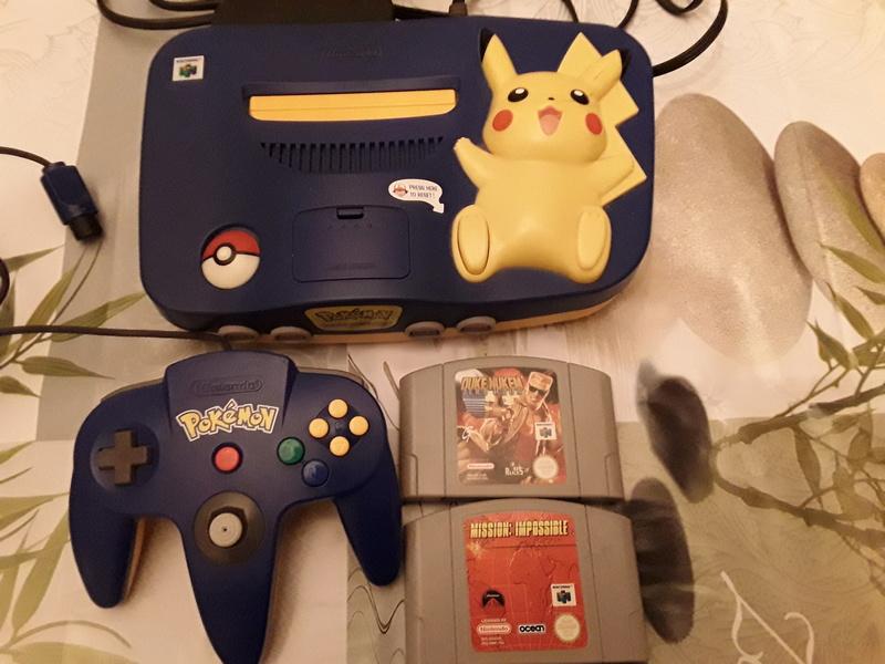 [Est] console n64 jeux ps2 master system nes 15079111