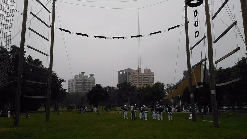 2017/11/11台南戶外探索教育園區高低空活動體驗心得分享區   112