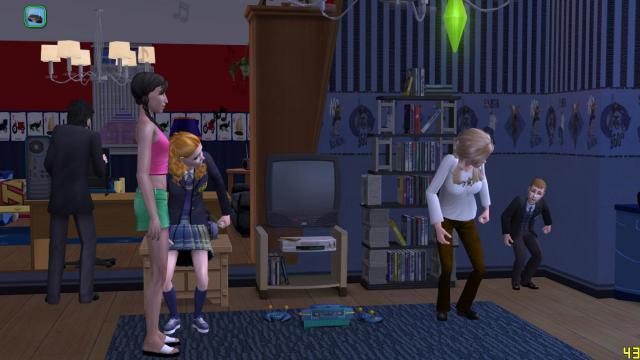 [série romance histoire de famille] La famille Grandier à Montsimpa - Page 2 Sims2e14