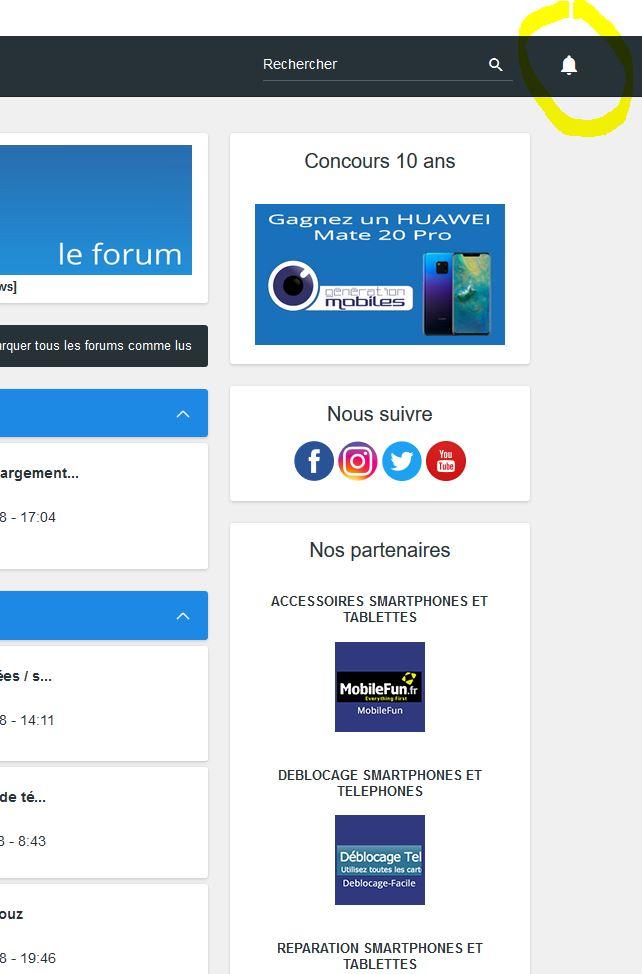 [ANNIVERSAIRE] Génération mobiles fête ses 10 ans avec un nouveau thème pour le forum ! Captur10