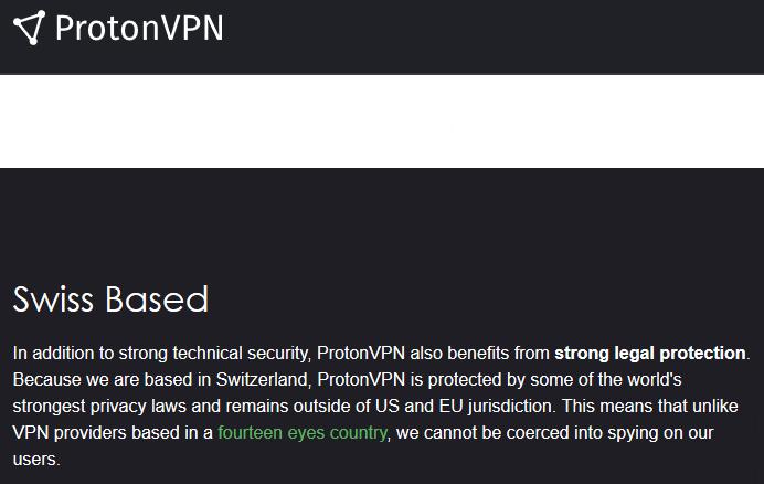"""[REFLEXION] Existe-t-il un """"bon"""" fournisseur de VPN ? Proton10"""