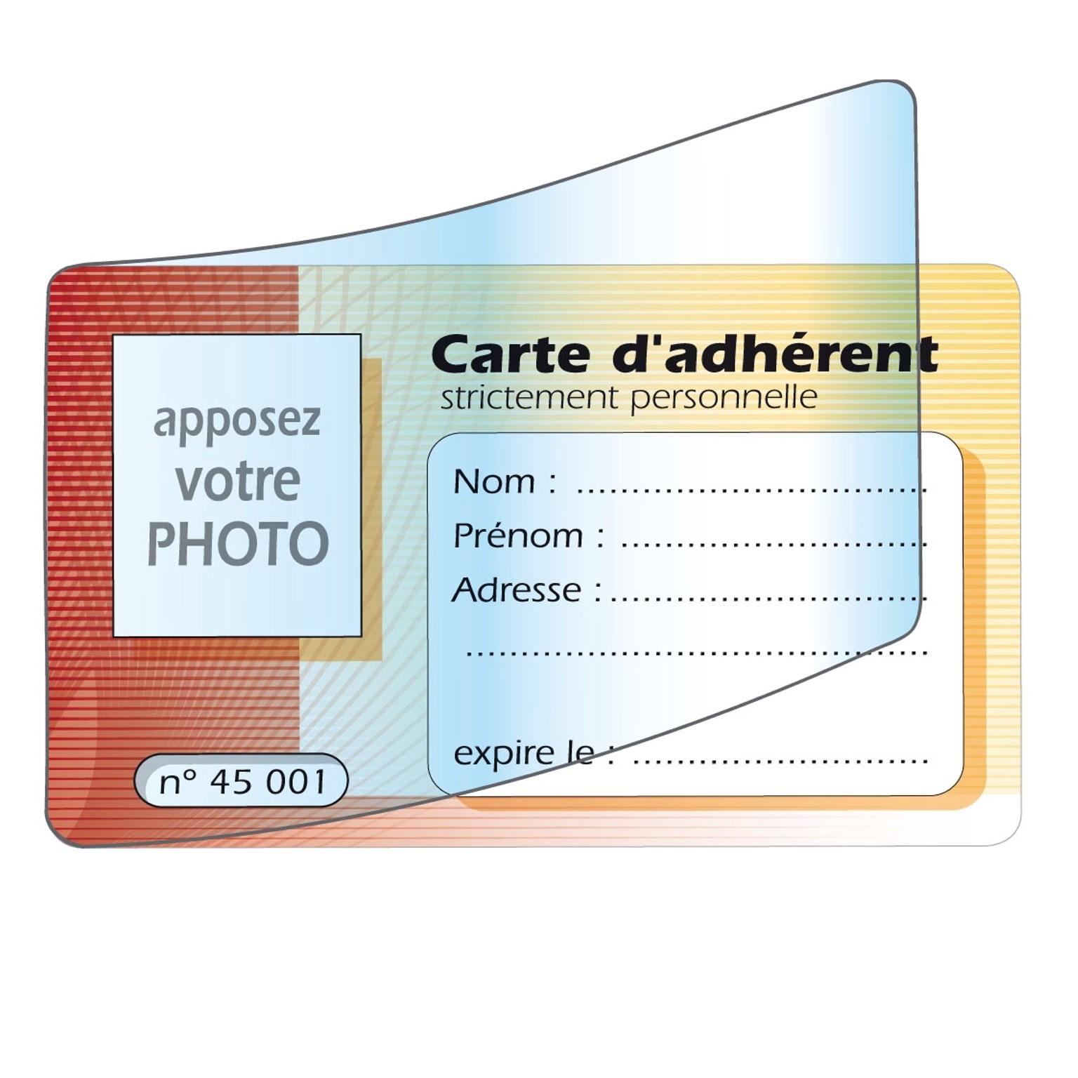 Cartes adhérents Cartea10