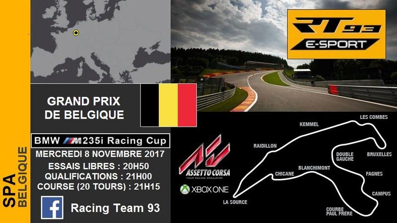 EVENT BMW M235i Racing Cup - Grand Prix De Belgique 22491810