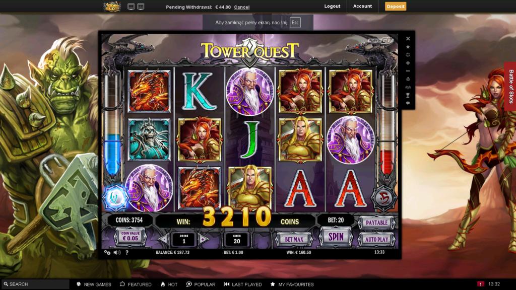 Screenshoty naszych wygranych (minimum 200zł - 50 euro) - kasyno - Page 14 Tower_10