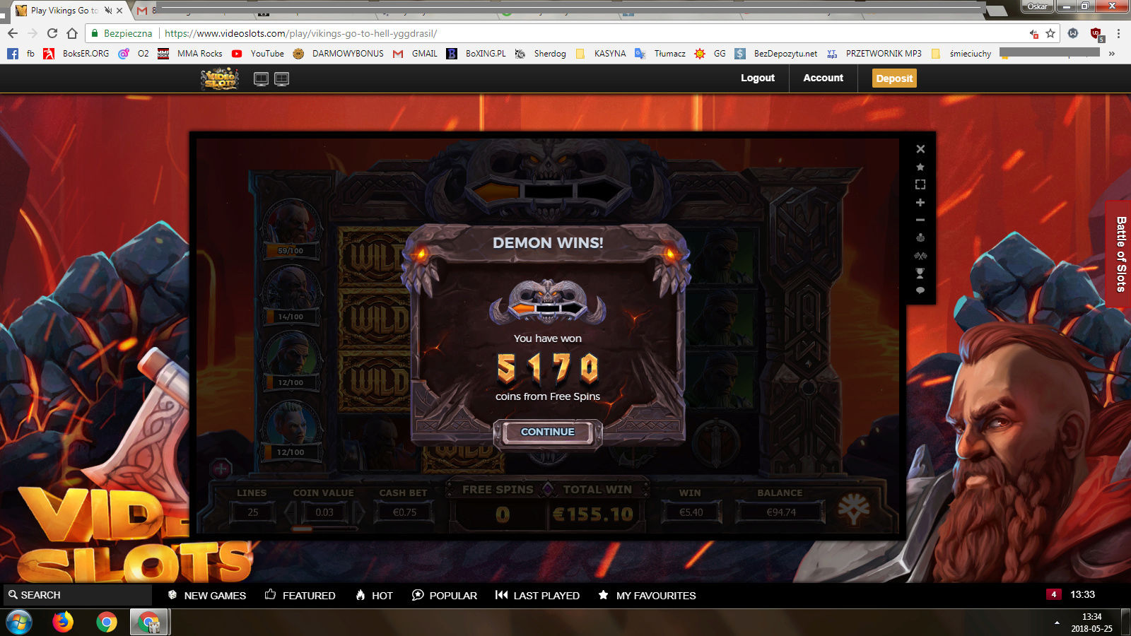 Screenshoty naszych wygranych (minimum 200zł - 50 euro) - kasyno - Page 8 Viking11