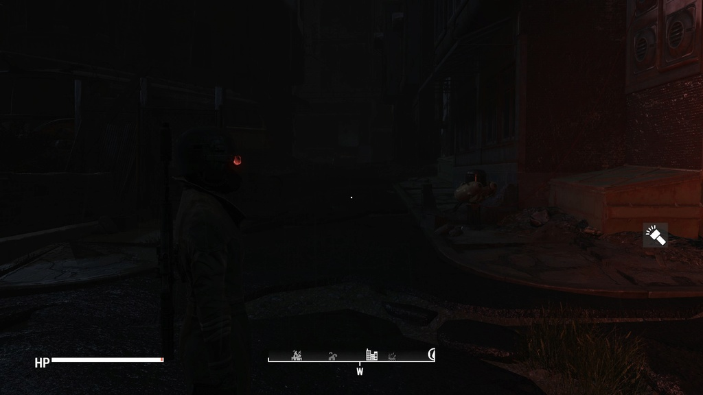 Strange bug with NCR ranger mask Lighting 20171011