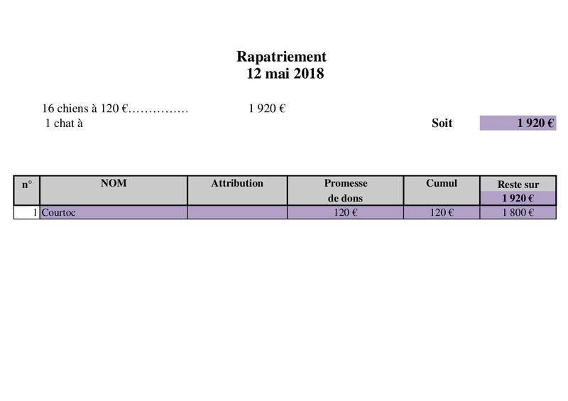 Arrivée camion chiens d'Orastie & Tamara le 12 Mai 2018 Rapat124