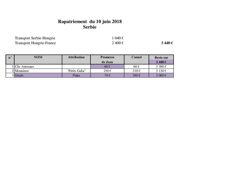 SERBIE : RAPATRIEMENT DU 10 JUIN 2018 (BACKA) Rapat164