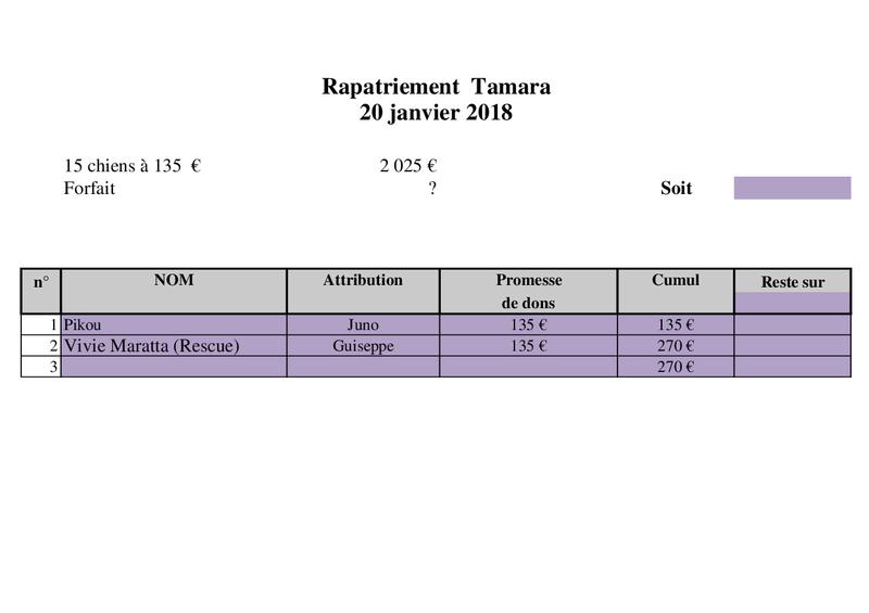 ARRIVEE PAR CAMION du 20 janvier 2018 (Roumanie) Rapatr49