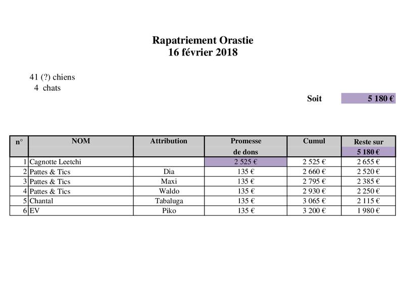 TRANSPORT CAMION ROUMANIE arrivée le 17 FEVRIER 2018 Rapatr79