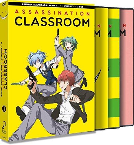 Assassination Classroom | S01-02 | AVC 1080p 7xBD25 - 1xBD50 | Cast-Jap | 51rl0910