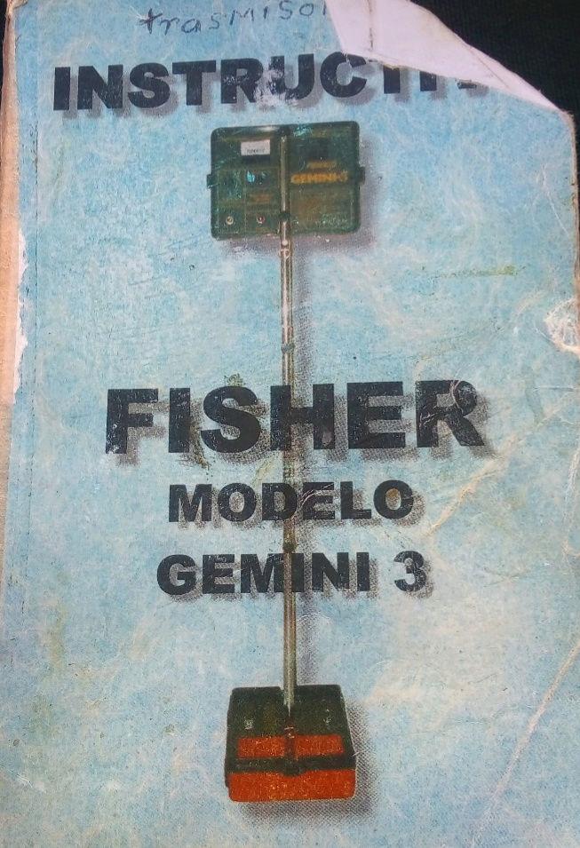 Comparto Instructivo para Fisher Gemini 3  y detectores de dos cajas Img_2010
