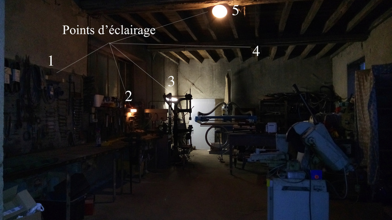 """Quelle """"spot/néon"""" pour l'éclairage Atelie10"""
