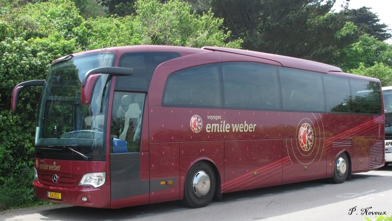 Les cars est bus luxembourgeois (L) Merced13