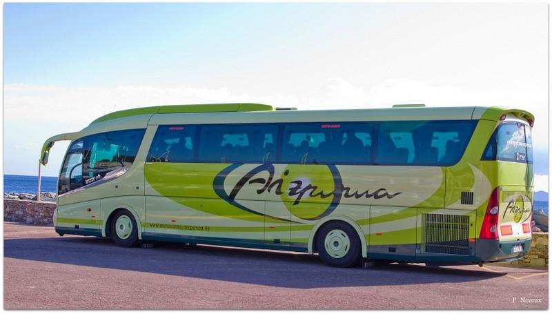 Les cars et bus espagnols Voyage17
