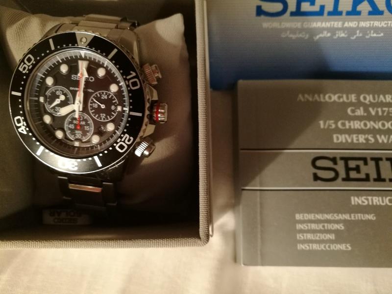 [Vendido] Relógio Seiko Solar SSC015P1 Chrono  Img_2018