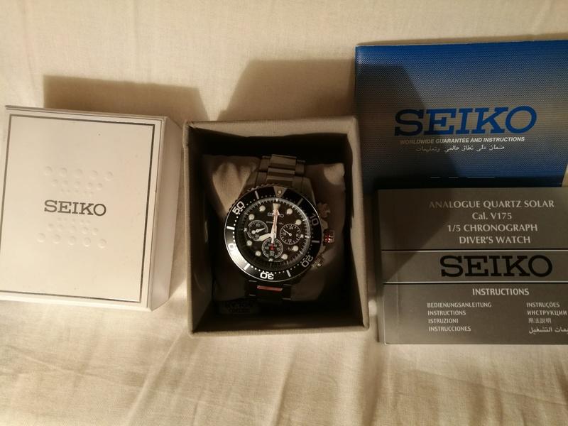 [Vendido] Relógio Seiko Solar SSC015P1 Chrono  Img_2019