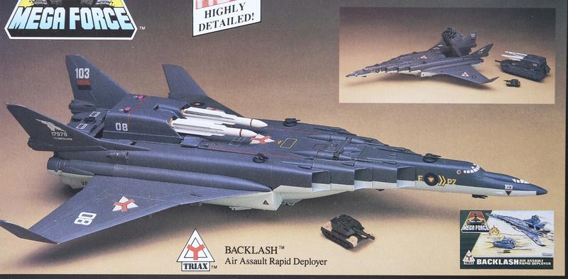 Custom Mega Force Backla10