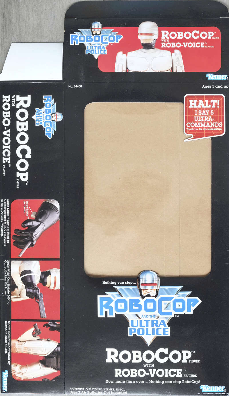 Robocop and the Ultra Police (Kenner) 1988-90 Box-ro10
