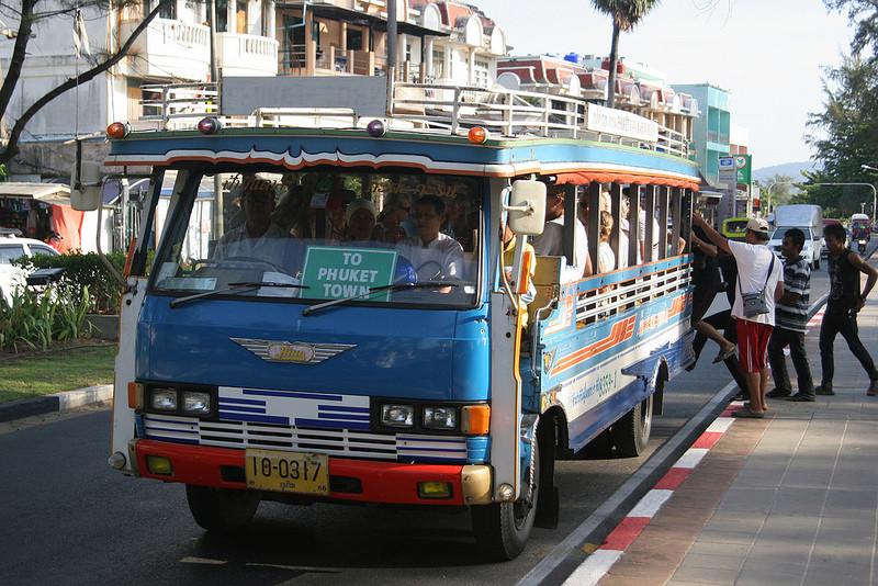 Общественный транспорт Пхукета  Cheap-10