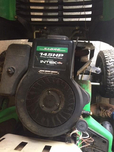 John Deere-Sabre??? Daughters Tractor Engine11
