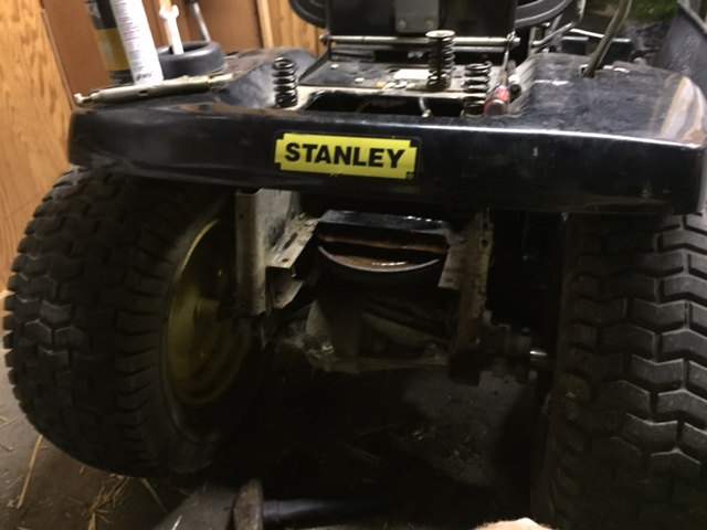 Stanely Garden Tractor Build Stanle11