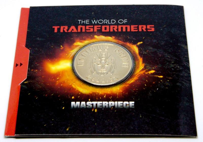 Médailles et bonus TT ASIA Transformers Masterpiece Mp-0910