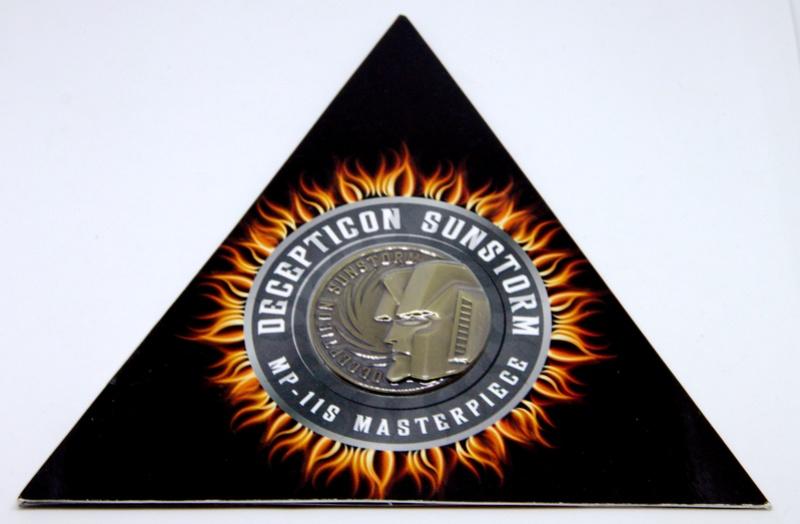 Médailles et bonus TT ASIA Transformers Masterpiece Mp-11s10