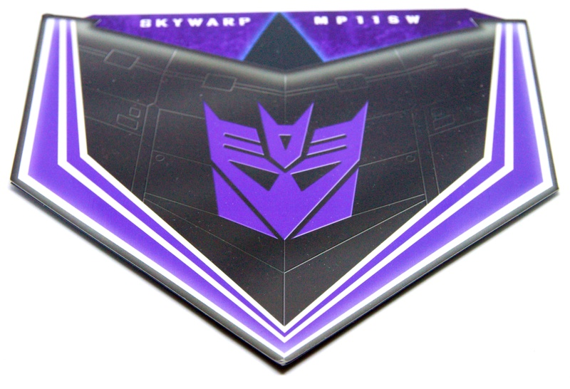 Médailles et bonus TT ASIA Transformers Masterpiece Mp-11s11