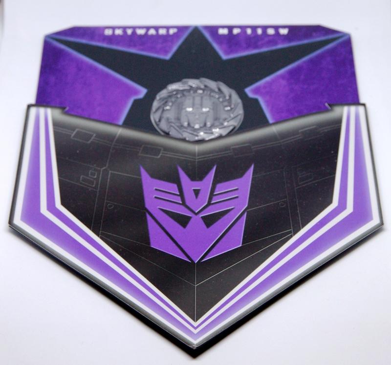 Médailles et bonus TT ASIA Transformers Masterpiece Mp-11s12