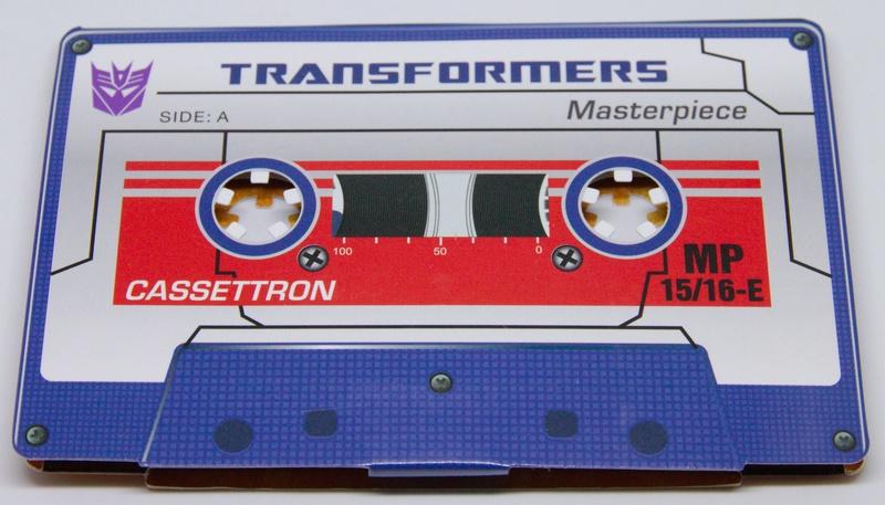 Médailles et bonus TT ASIA Transformers Masterpiece Mp-15111