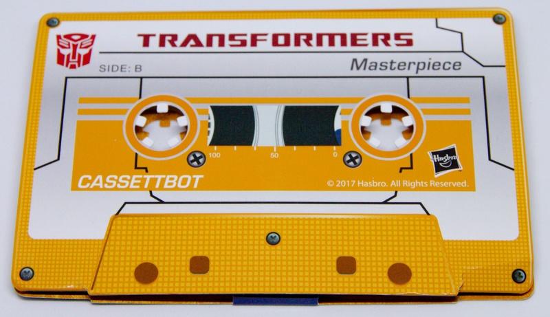 Médailles et bonus TT ASIA Transformers Masterpiece Mp-15112