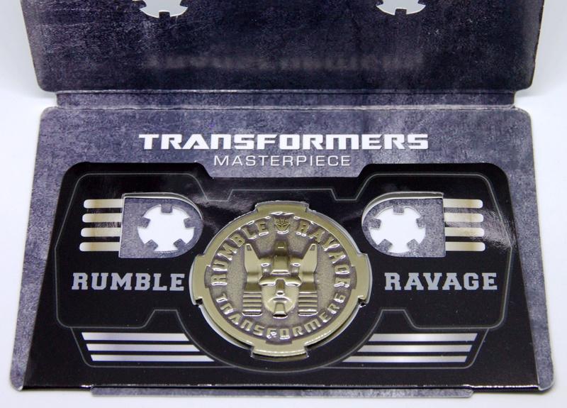 Médailles et bonus TT ASIA Transformers Masterpiece Mp-15_11