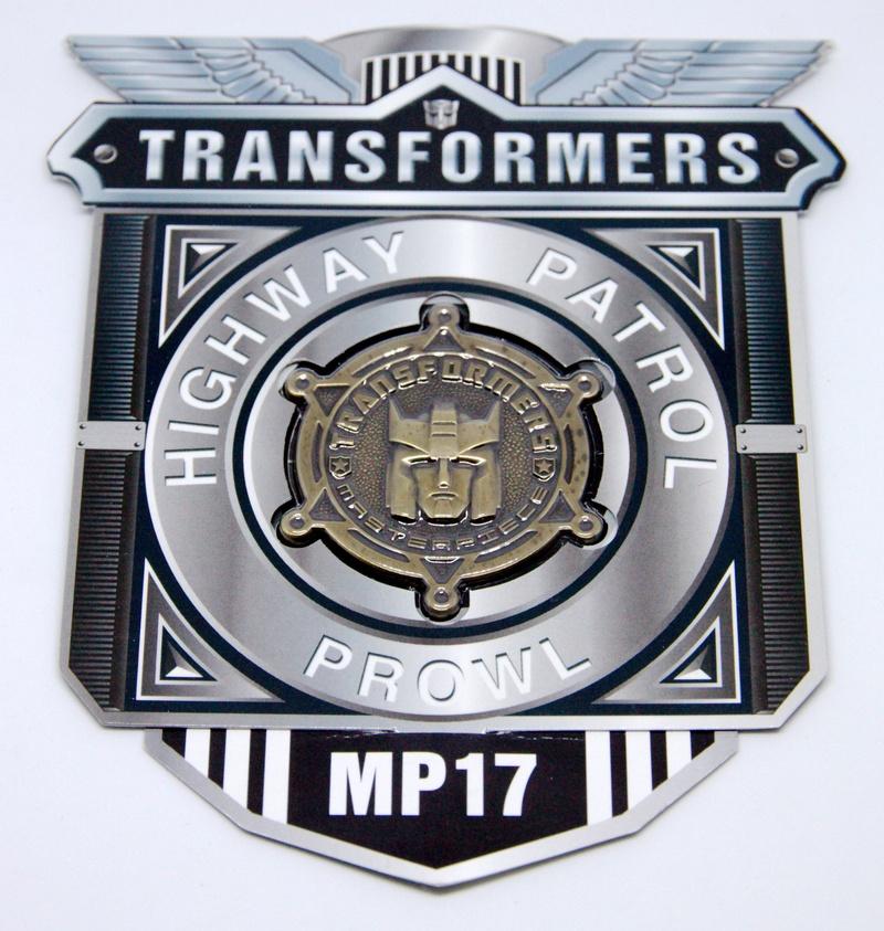 Médailles et bonus TT ASIA Transformers Masterpiece Mp-1710