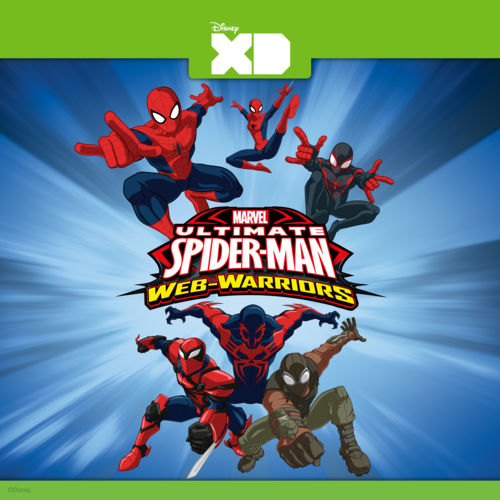 Ultimate Spider-Man Web Warriors, Season 3 (2014) (Web-DL) (720P) [E-AC3] SPA LAT NF (26/26) 500x5010
