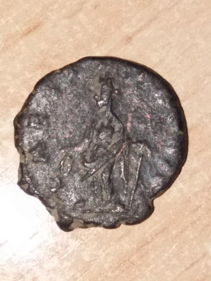 Antoniniano de Tétrico I. LAETITIA AVG N. Colonia Rev10